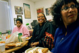 Denver City Councilwoman Elbra Wedgeworth (center) is also the president of the Denver 2008...