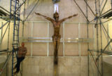 (NYT32) BOCA RATON, FL -- December 14, 2006 -- FLA-LUXURY-CRUCIFIX-2 -- A 12 feet tall, 1,400...