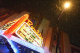 The Boulder Theater on a snowy night on December 28, 2006, where Rickie Lee Jones and Chris...