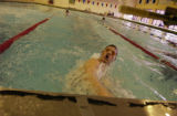(LITTLETON, Colo., March 24, 2005) Mark Dylla is a student and outstanding swimmer at Heritage...
