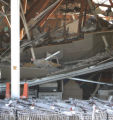 The inside of a Save A Lot after  building collapse at the Hoffman Heights Shopping Center in...