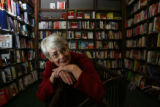 Margaret Maupin, (cq), is retiring, after 25 years, as buyer for the Tattered Cover bookstore,...