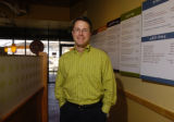 (BOULDER, Colo., March 30, 2005) Aaron Kennedy,(cq) the CEO of Noodles & Co., in the newly...