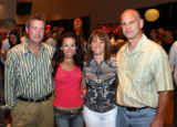 (Denver, Colo., May 19, 2006) John and Erin Wallace with Deedee and Roger Parker (President and...