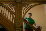 Jack Pincus, 17, poses in his family's home in Denver Wednesday May 23, 2006. Pincus was the first...