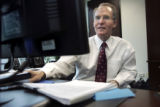 (DENVER, Colo., March 30, 2005)  Mark Hellerstein, (cq)  CEO of St. Mary's Land & Exploration...