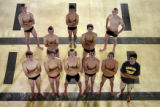 (l-r back-row) Kyle Johnson (cq), 18, Smokey Hill High School, Ben Grado, 16, Conifer High School,...