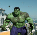 The Hulk battles helicopters and tanks in director Ang Lee's movie based on the comic-book...