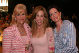 (Denver, Colo., May 25, 2006) Cindy Farber, Carol Mizel, and Debi Lustig.  The Mizel Museum Annual...