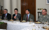 During his visit to Iraq, Gov. Ritter had dinner with Gen. David Petraeus, Deputy Chief of Mission...