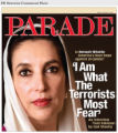 PRN3 - PARADE Magazine's January 6, 2008 cover story on Benazir Bhutto written by Gail Sheehy. ...