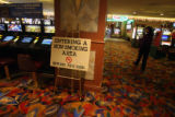 Non-smoking area at Fortune Valley seen during a media tour of the casino in Central City Thursday...