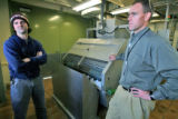 Oberon FMR , Inc. of Idaho Springs is developing a sustainable source of food to feed farm-raised...