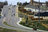 (DENVER, Co. - SHOT 4/5/2005) A view looking up South Simms Street towards Coal Mine Avenue with a...