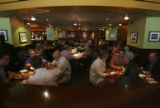 Lunch customers fill the center section of The Rialto Cafe at 934 16th St. in Denver, Colo. on...