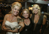 (Denver, Colo., April 8, 2005) Left to right:  Event chairs Martha Kelce, Leigh Sullivan, and...
