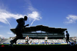 Team Celtic FC from the Scottish League takes to  the field Tuesday morning July 17, 2007 for a...
