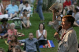 Mayor John Hickenlooper extends thanks to musicians, volunteers, caterers, the botanic gardens,...