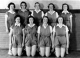 Fitness story about women's athletic apparel throughout the years.  The first is from the 1930s,...