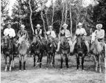 """Roundup Riders of the Rockies"" photo taken from an article by Dorothy Reed off the..."