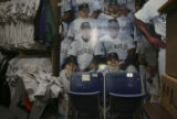 #7, left of two connected chairs in photo now in the tentative museum at Coors Field at 20th and...
