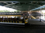 The South Platte Trolley brings tourist for a ride along South Platte River, July 13, 2007,...