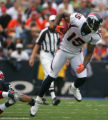Brandon Marshall eludes a tackle in the second quarter of the Denver Broncos against the Buffalo...