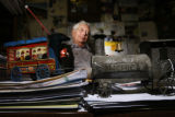 Warren Mizell (cq), 74, a retired meat cutter from Safeway, has owned a model train business for...