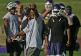 Rocky Preps COVER for Sept. 13 on Denver South football coach Tony Lindsay and his staff, which...
