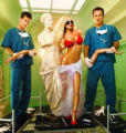 "NIP/TUCK: Julian McMahon (R)  and Dylan Walsh (L) star as ""Drs. Christian Troy and Sean..."