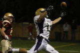Holy Family's #12 Ellis vonRivenburgh misses this pass in the final seconds of the game and HF...
