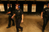 left to right, Denver Police Officers, John Adsit, Colleen M. O'Dell, Robert Suthern, (cq all...