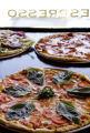 Parisi's Margherita pizza, in front, topped with tomato slices and basil, back left, Valtellina...