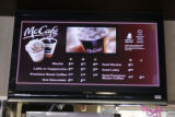 The McCafe in the McDonalds at 5550 W. Dartmouth Ave. features fresh brewed specialty coffees at...