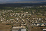 JOE982 Aerial view on Friday morning, May 23, 2008 of parts of Windsor, Colo., that was hit by a...