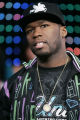 NYET212 - ** FILE ** In this Sept. 11, 2007 file photo, 50 Cent appears on stage during MTV's...