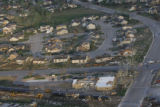 JOE353 Aerial view on Friday morning, May 23, 2008 of parts of Windsor, Colo., that was hit by a...