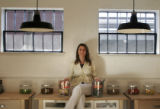 (014)  The founder of Larabar, a 5-year-old  nutrition bar company, Lara Merriken poses for a...