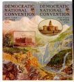 Union Pacific Railroad brochure cover features the 1908 Democratic National Convention in Denver.
