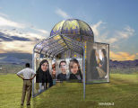 "LEAVE NO TRACE The ""pictures of you: Images from Iran"" installation is designed and..."