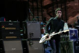 ({seqn)} Modest Mouse opens up for REM at Red Rocks Amphitheatre in Morrison, Colo., on Tuesday,...