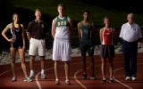 2005 All-Colorado boys and girls track athletes photographed Tuesday,  June 7, 2005 at Cherry...
