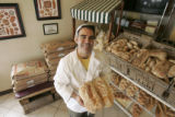 Greg Allan (cq) at his store, Vincenza's Italian Bakery & Deli, in Wheatridge, Colo., on...