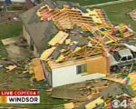 "RMN010_WINDSOR_TORNADO A large tornado wreaked ""total destruction"" in the northern..."
