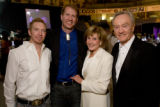 (Denver, Colorado, Oct. 25, 2008) Dave Hurt, Scott Coors, Phyllis Coors, and Joe Harrington. ...