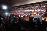 Hundreds packed into the City Auditorium on Tuesday,  Oct. 28, 2008 for an opportunity to hear...