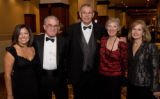 (Denver, Colorado, Oct. 25, 2008) Lola Salazar, Joe Romig (2008 Distinguished Alumnus Award...