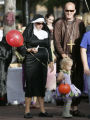 Stacey and Dan Slupik found the perfect costume for Stacy who is pregnant as they take their...