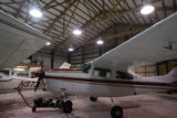 MJM034  A Cessna aircraft sits Monday 11/17/08 at Rite Brothers Aviation Inc. at the William R....