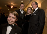 (Denver, Colorado, Nov. 1, 2008) TCH ambassador Liam Orlando with his parents, Peter and Susan,...